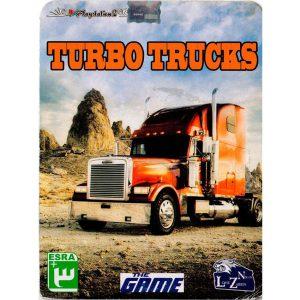 بازی TURBO TRUCKS پلی استیشن 2