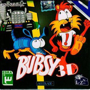 بازی BUBSY 3D پلی استیشن 1