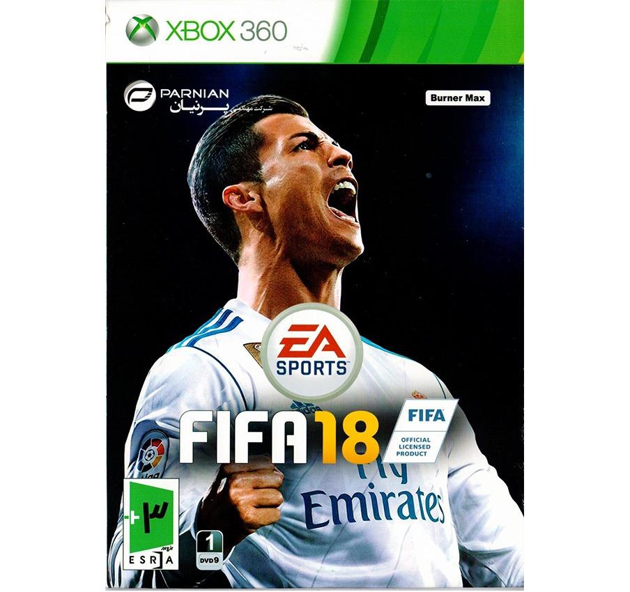 بازی FIFA 18 xbox360