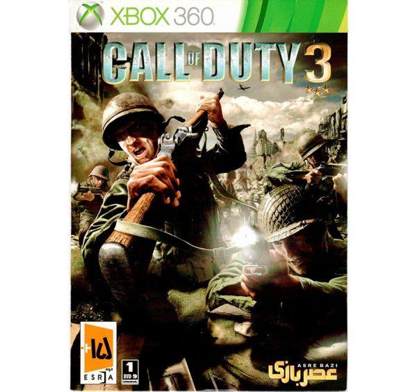بازی Call of duty3 xbox360