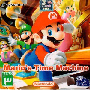 بازی mario Time Machine PS1