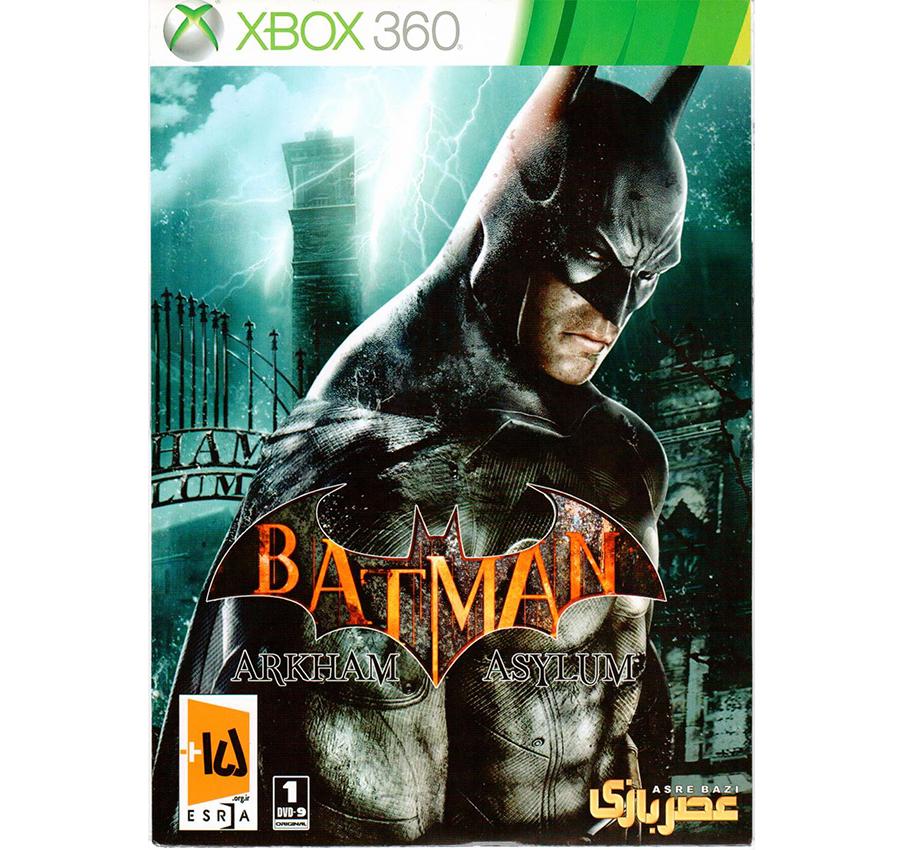 بازی BATMAN asylum xbox360