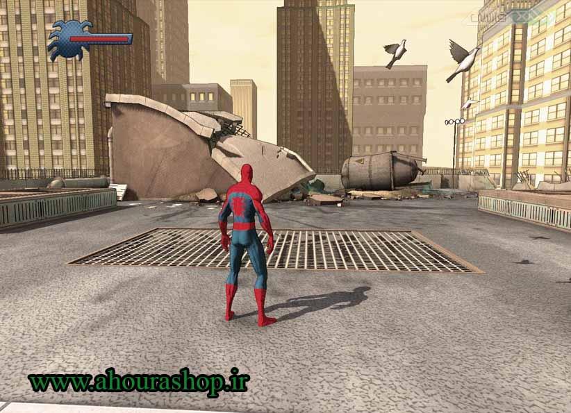 بازی مرد عنکبوتی ایکس باکس 360
