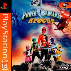 بازی POWER RANGERS پلی استیشن 1