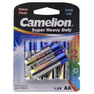 باتری قلمی کملیون 6تایی