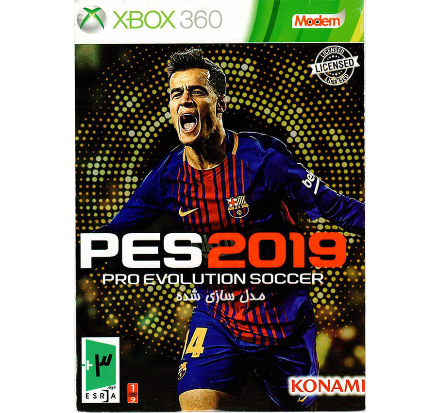 بازی PES 2019 xbox360