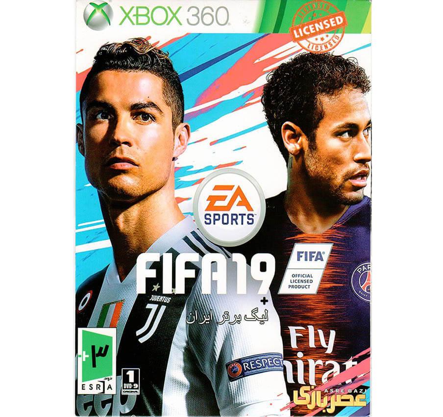 بازی FIFA 19 xbox360 لیگ برتر