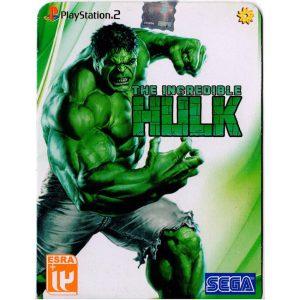 بازی THE INCREDIBAL HULK PS2
