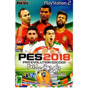 بازی PES 2018 PS2 جام جهانی