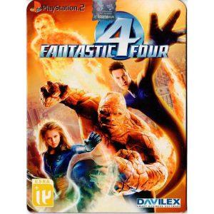 بازی چهار شگفت انگیز PS2