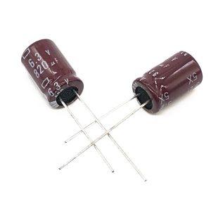 خازن الکترولیت 820uf 6.3v