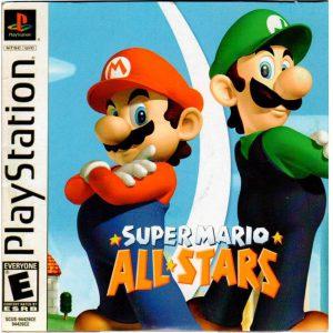 بازی سوپر ماریو PS1