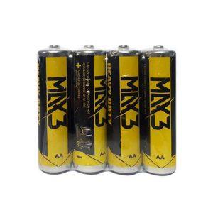 باتری قلمی چهارعددی max 3