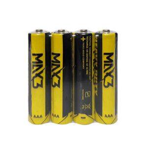 باتری نیم قلمی چهارعددی max 3