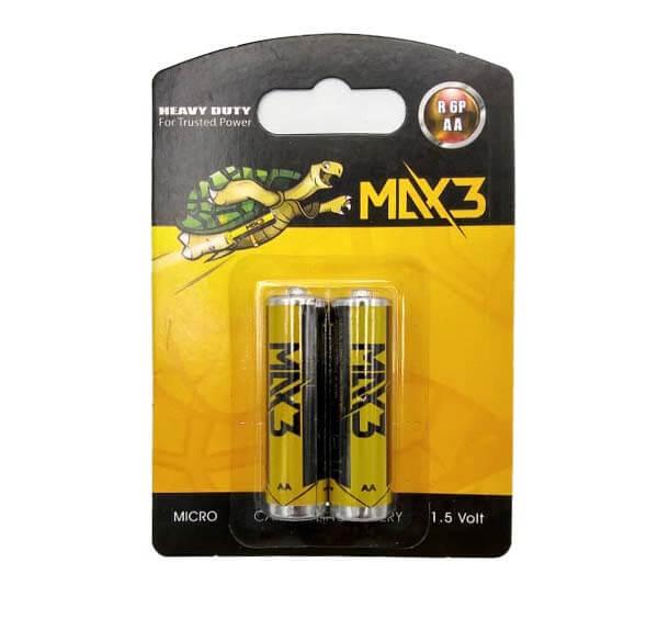 باتری قلمی max 3