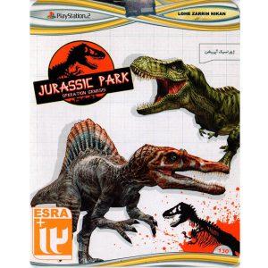 بازی JURASSIC PARK پلی استیشن 2