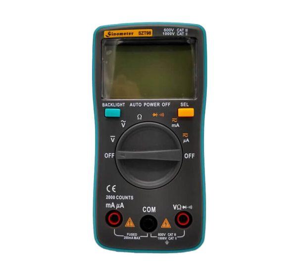 مولتی متر دیجیتال 2000