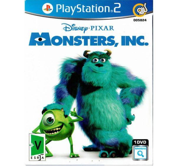 بازی monsters inc پلی استیشن 2