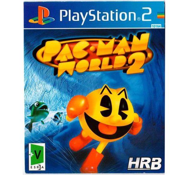 بازی pac man world 2 PS2